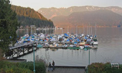 Deep Cove on the North Shore