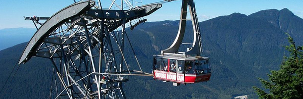 Picture of the Grouse Mountain Gondola